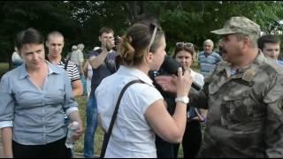 "Видео ""Новости-N"": В Николаеве Надежду Савченко забросали яйцами"