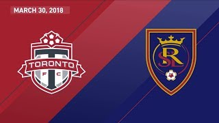 HIGHLIGHTS: Toronto FC vs. Real Salt Lake | March 30, 2018