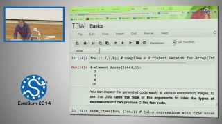 Crossing Language Barriers with Julia, SciPy,IPython | EuroSciPy 2014 | Stephen G  Johnson
