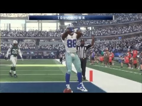 Madden 18 Dez Bryant Best Catches Comilation 1
