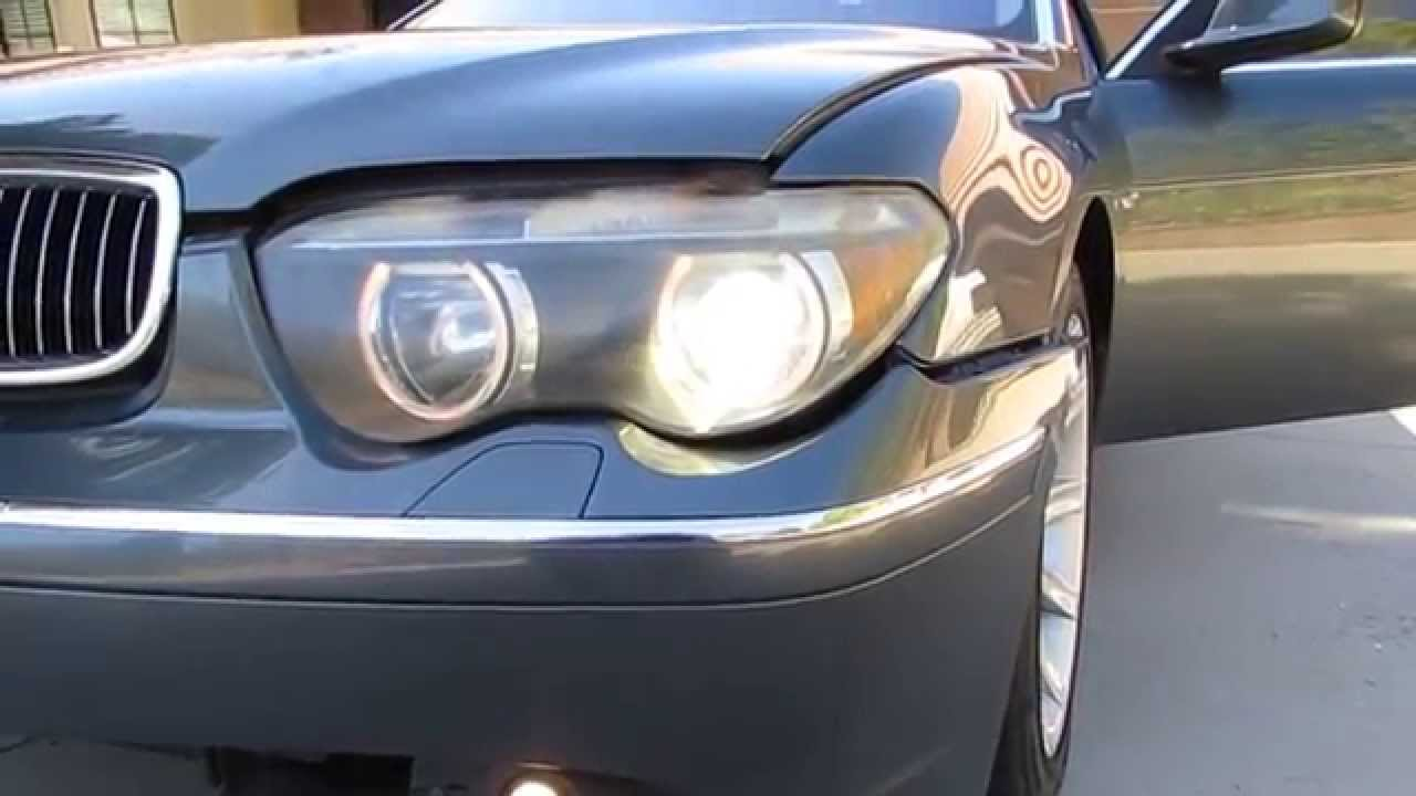 03 Bmw 745i 745li E65 E66 Part Out Headlights Tail
