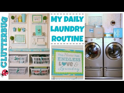 My Daily Laundry Routine