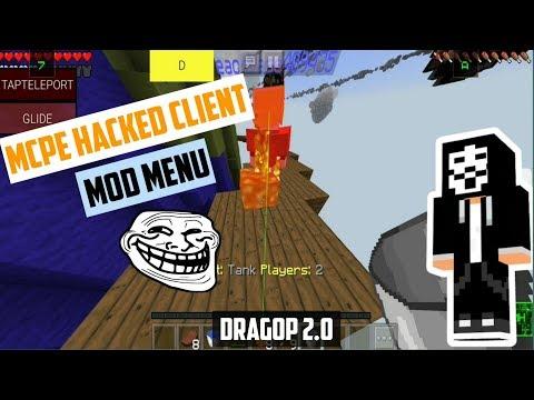 Minecraft PE DragOP-Hack Mod Menu Review by Mitchell Modz