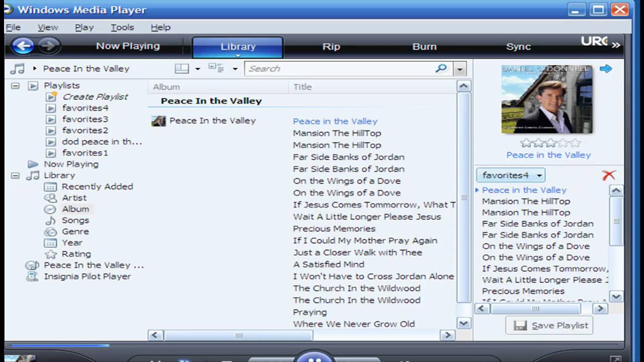 How to create a regular playlist in windows® media player youtube.