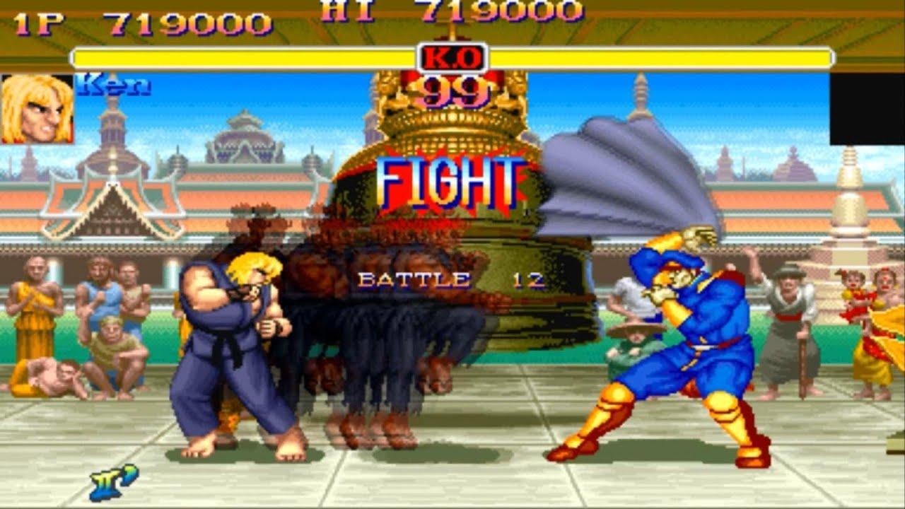 Street Fighter 2 Spielen