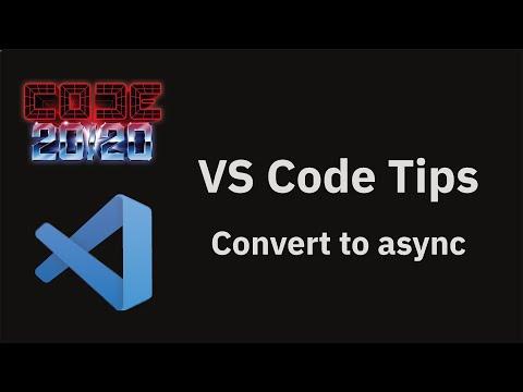 Convert to async