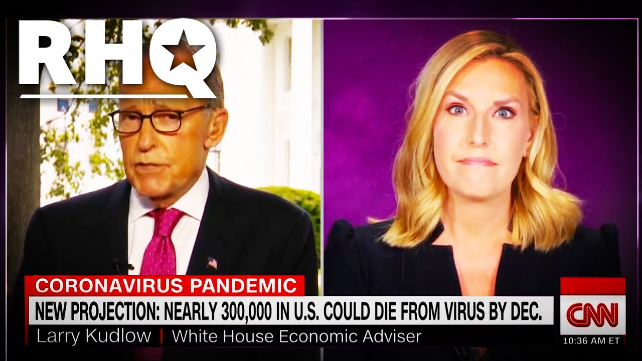 Larry Kudlow Gets Snippy When Confronted About Coronavirus LIES