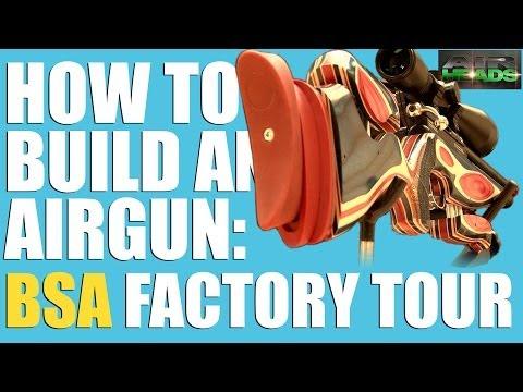 AirHeads Special - BSA Guns factory tour