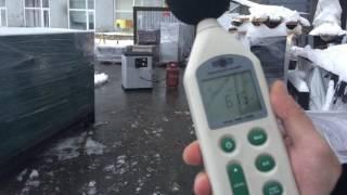 Замер уровня шума у газовой модели GG-8SV
