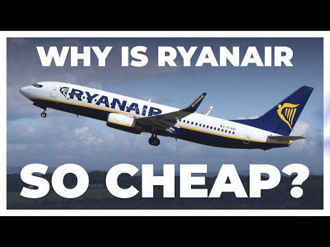 How Is Ryanair Able To Sell Such Cheap Fares?