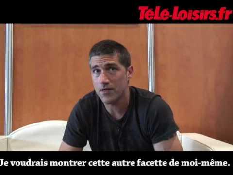 Matthex Fox Interview Lost Season 6 -  Jack Shepard