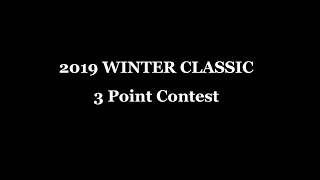 2019 Winter Classic 3-Point Contest