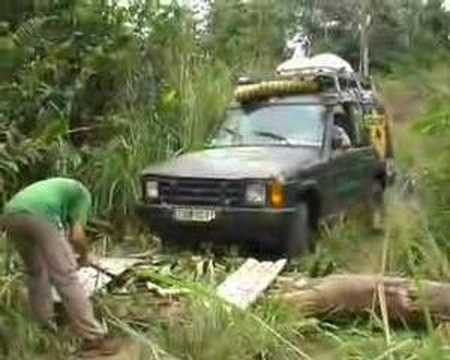 Offroad 4WD in Congo!