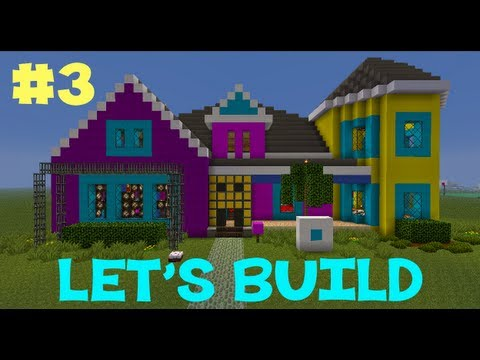 Minecraft Let's Build: LMFAO Sorry for Party Rocking HOUSE EP3