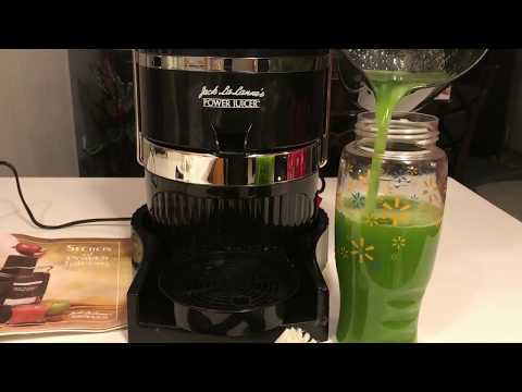 Celery Juicing with Jack LaLanne's Power Juicer!