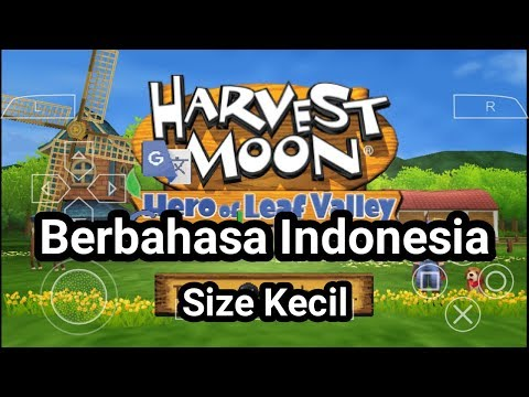 GAME HARVEST MOON SUB INDO IN PPSSPP+CARA PASANGNYA