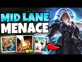 MY NEW FAVORITE LEONA BUILD LEGIT OWNS ANY MID LANER (AP BRUISER) - League of Legends