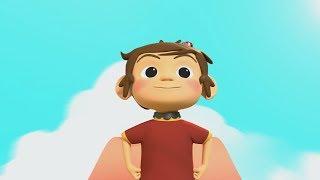 Lio & Leya | Penakut | Kids Animation | IniDia Studio