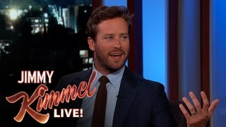 Jimmy Kimmel Embarrasses Armie Hammer with Childhood Photo