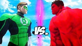 RED HULK VS GREEN LANTERN - EPIC BATTLE