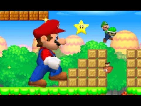 New Super Mario Bros. DS - Mario Vs. Luigi Mode #3 (All Courses)