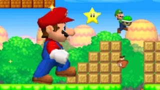New Super Mario Bros. DS - Mario Vs. Luigi Mode #3 (All Courses)