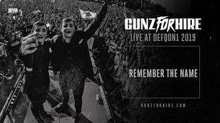 Смотреть клип Gunz For Hire - Remember The Name