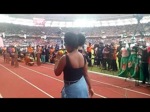 Popular Female Rap Artiste Honey Wail performance at Akwa Ibom @ 30 Anniversary 2017| Uyo International Stadium