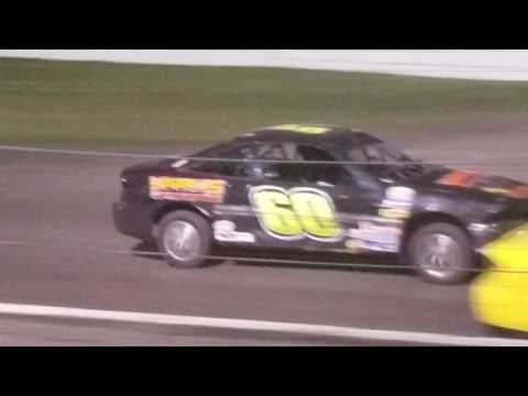Dustin Virkus @ Fiesta City Speedway- Feature 8.4.17, Part 2