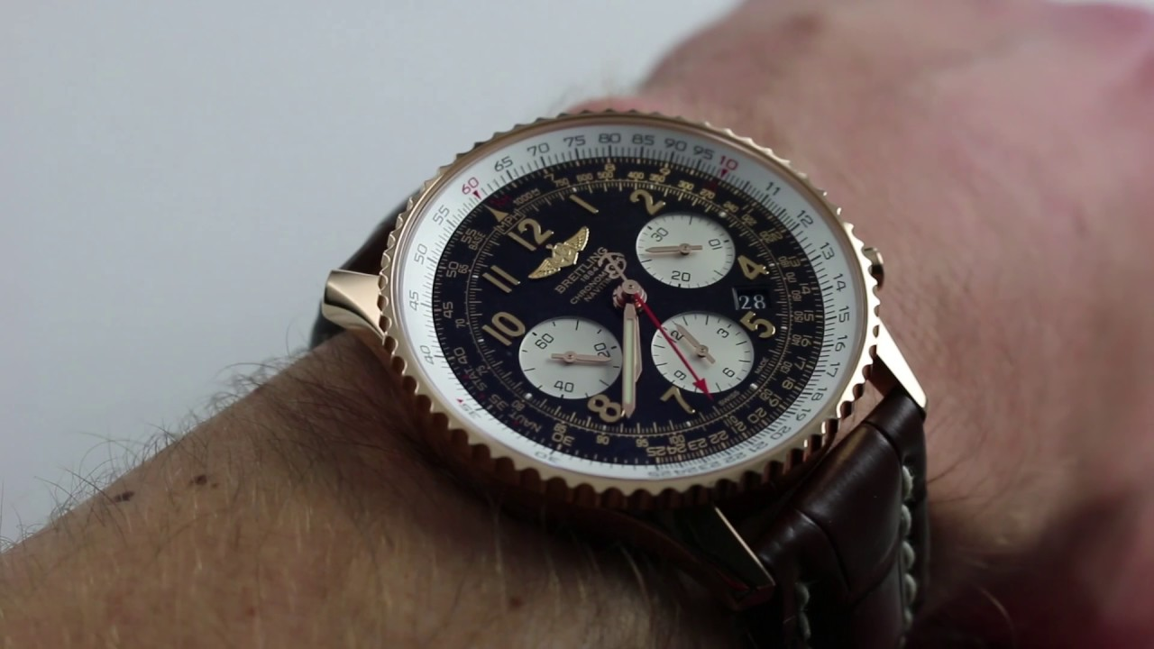 Pre Owned Breitling Navitimer 01 Rb0120 Luxury Watch Review