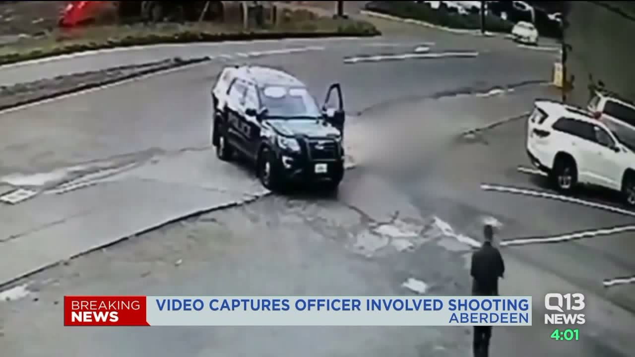 Surveillance video contradicts Aberdeen police`s version of deadly officer-involved shooting