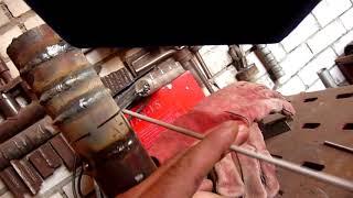 Сварка труб, неповоротный и горизонт, без отрыва (видео по просьбе)