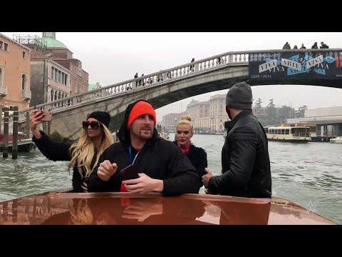 Superstars soak in the beauty of Venice, Italy