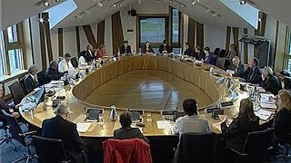European and External Relations Committee - Scottish Parliament: 12th December 2013