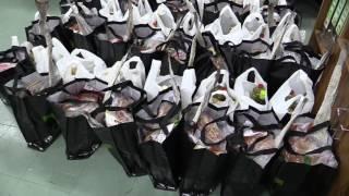 Entrega de cabazes de Natal 2016 da Junta de Freguesia de Campolide