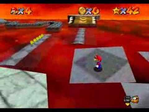 Super Mario 64 (#7 Lethal Lava Land Stars 1-6)