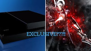 Breaking News Devil May Cry 5 Might Be Exclusive To Playstation!!