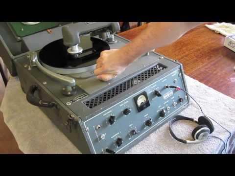 Cutting A 78 Rpm Record
