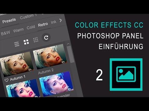 Color Effects CC 2 - Panel Einführung (Deutsch)
