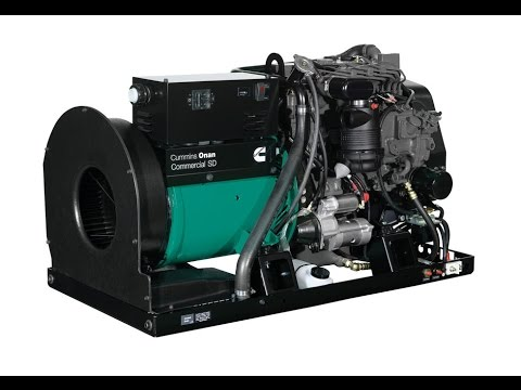 Cummins Onan SD 10000 - 10,000 Watt Commercial Open Diesel Mobile Generator