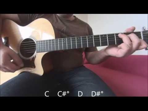 Hurt - Christina Aguilera Acoustic guitar tutorial