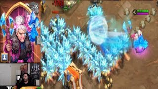 New Hero FROST WITCH Game Play New Favorite Hero Castle Clash