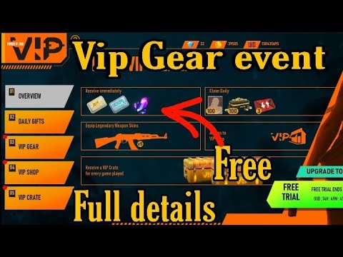 VIP gear store new event freefire full details | How to claim for free | Capital Army