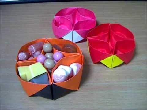 簡単 折り紙 折り紙 箱 ユニット 折り方 : youtube.com