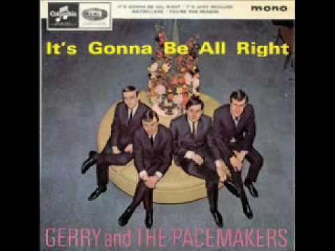 gerry and the pacemakers walk hand in hand with me.wmv