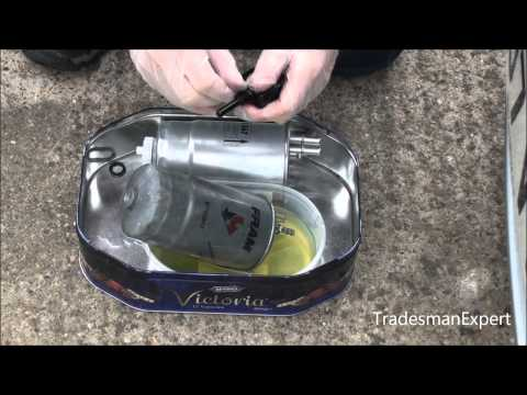 Fiat Multijet Fuel Filter Replacement JTD