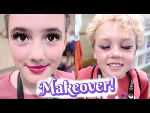 Makeover at the Tarte Beauty Lounge!