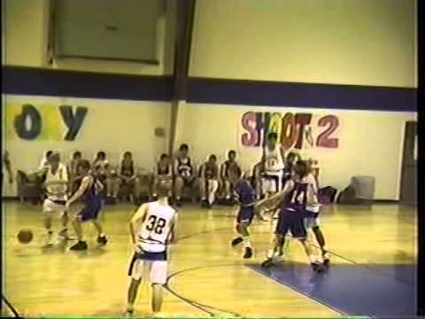 Dixie Academy Rebels @ CCA Watchmen basketball 1994-95 season