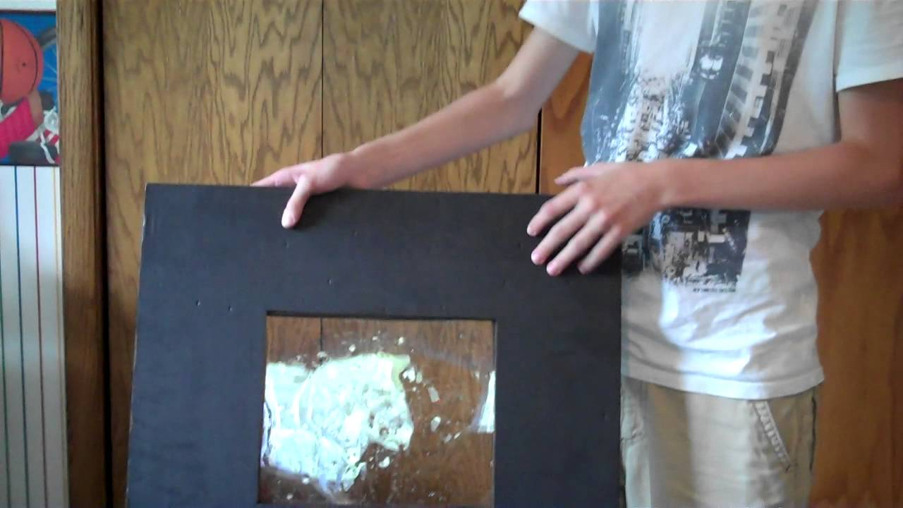 Homemade Airsoft Riot Shield Review