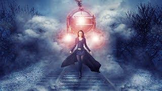 Train behind girl photo manipulation | photoshop tutorial cc